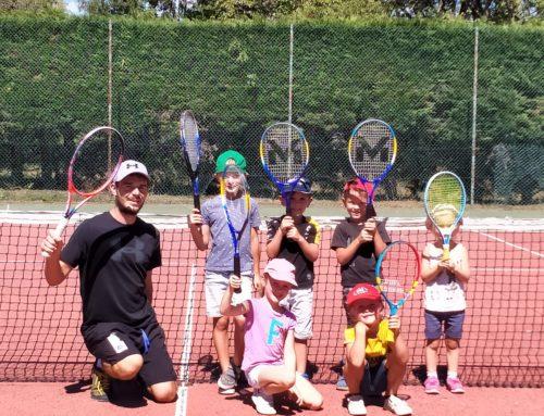 Stage estival de tennis