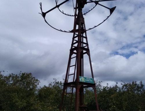 Restauration de l'éolienne du Peyron