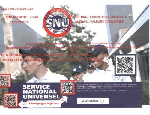 Déploiement du SNU en Ardèche